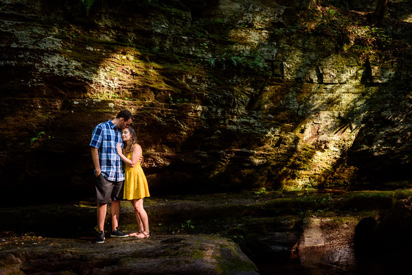 NNK-Danielle and Brad - Van Campen Falls-Engagement Session-102