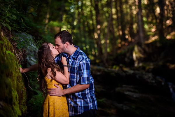 NNK-Danielle and Brad - Van Campen Falls-Engagement Session-107