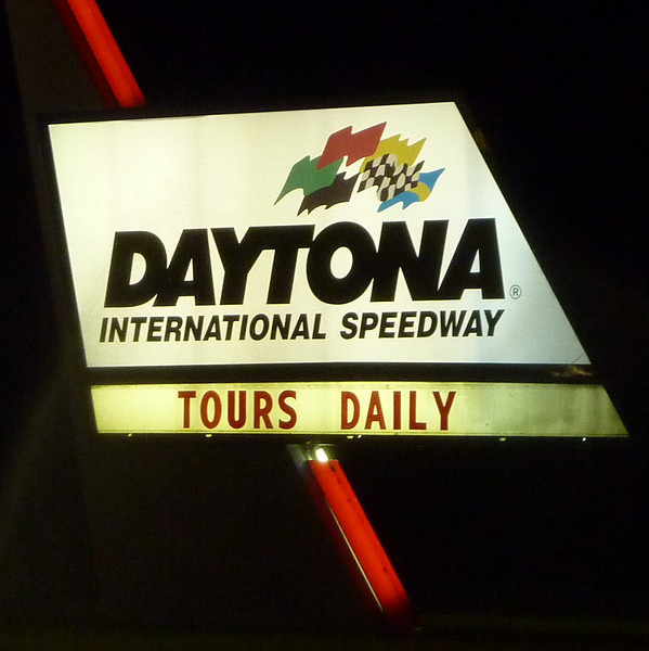 The storm sent us to Daytona rather than Jacksonville, which was our original destination. Got in at 2 a.m. Ouch!