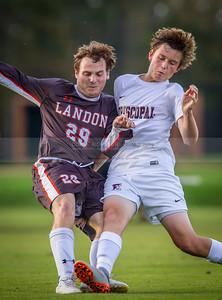 Boys' Varsity Soccer: Landon vs Episcopal