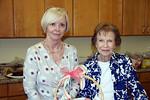Rose Garden Circle members<br /> Dot Adler and Dottie Schiffmacher