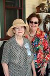 Betty Ann Guyton, Rose Garden Circle member on left