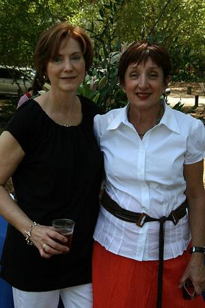 Rose Garden Circle members<br /> Kathy Diaz and Linda Day