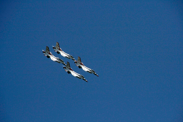 Airshow from MacDill Airforce Base