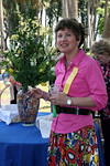 Rose Garden Circle member and<br /> Earthly Paradise Chairman Maria Johnson