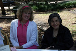 Rose Garden Circle members Jan Anderson and Cecile Essrig