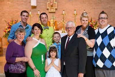 Ainslie's First Communion