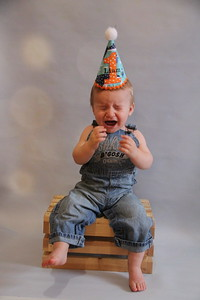 Liam turns one! 037