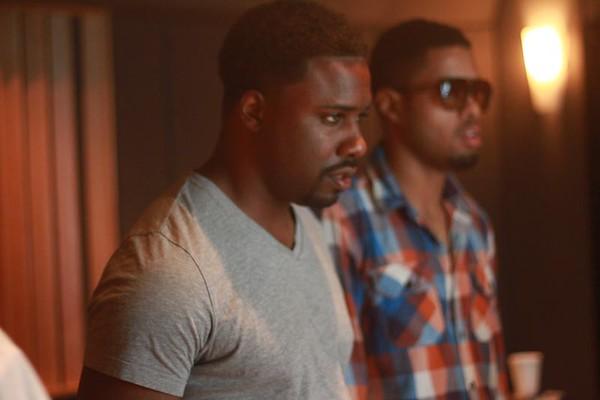 HB in the Studio