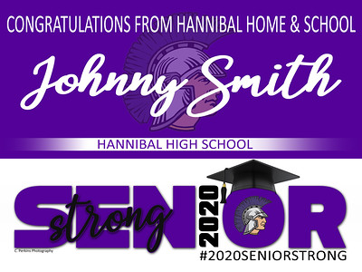 Hannibal Senior Congrats HHand S