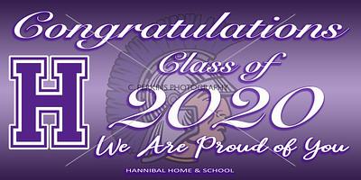 Hannibal Congrats Banner