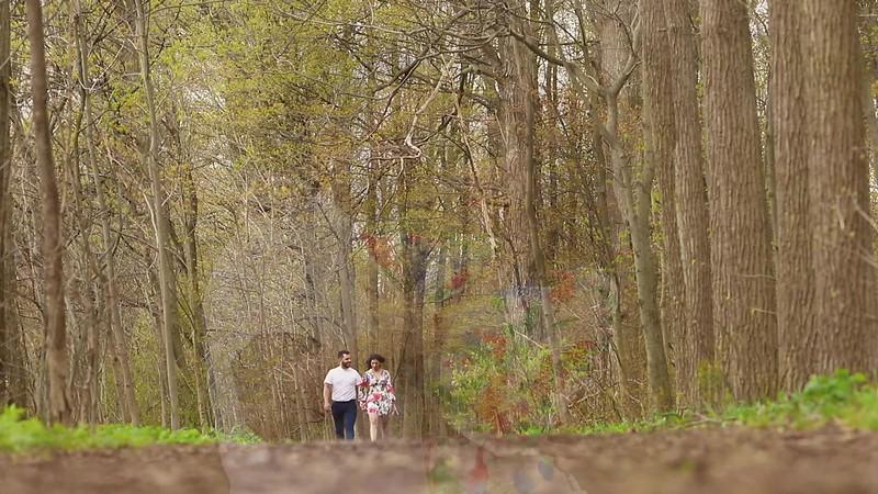 Leena & Andrew Love Walk