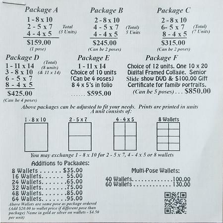 1 Page l Sr  Price List