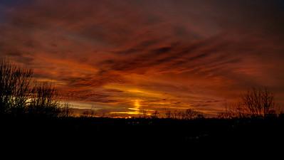 Sunset January 20, 2013-2