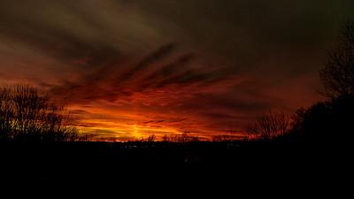 Sunset January 20, 2013-4