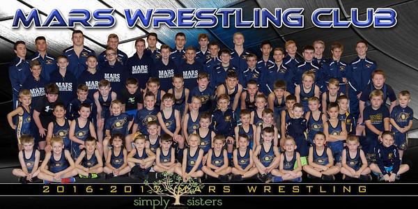 Mars Wrestling Team 4x8 Print