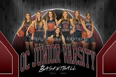 OC Junior Varsity Basketball 2019-2020