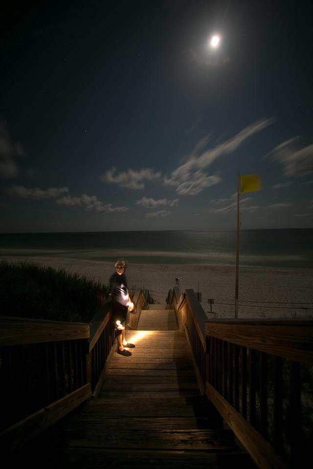 Destin Florida Beaches At Night 9 Of 14
