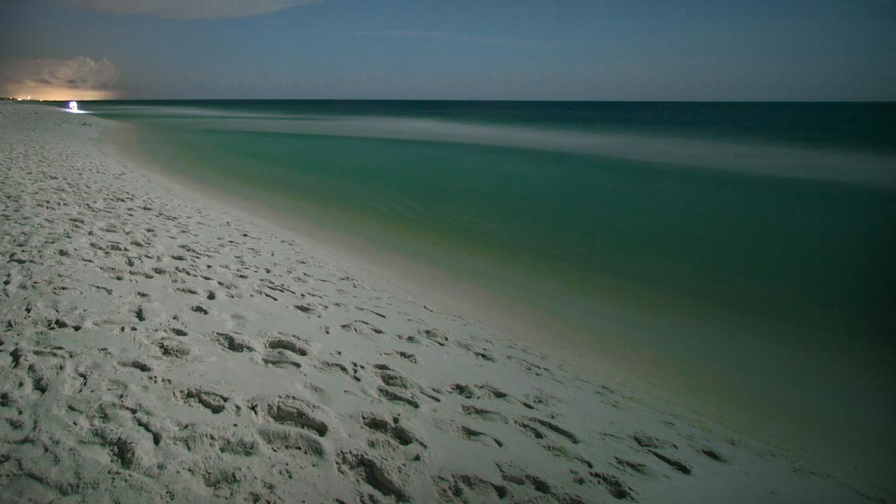 Destin Florida Beaches At Night 12 Of 14