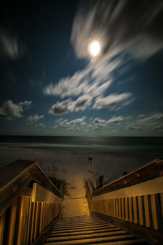 Destin Florida Beaches At Night 6 Of 14