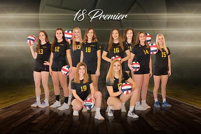 Pittsburgh Elite Volleyball - 18 Premier