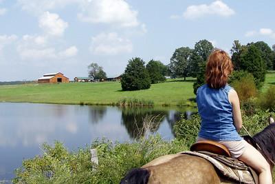 Horseback Riding in Bourbon--17