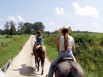 Horseback Riding in Bourbon--16