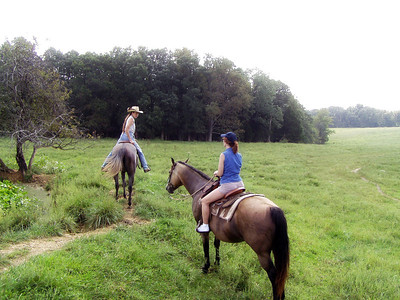 Horseback Riding in Bourbon--12