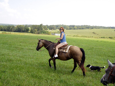 Horseback Riding in Bourbon--15