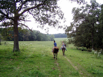 Horseback Riding in Bourbon--10