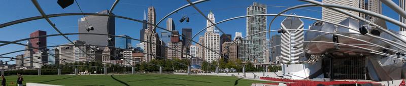 Millinium Park Chicago IL Panorama1