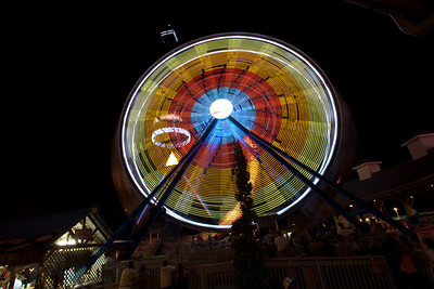 Amusement Park Night Life-5652