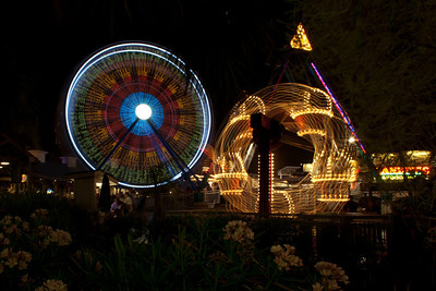 Amusement Park Night Life-5606