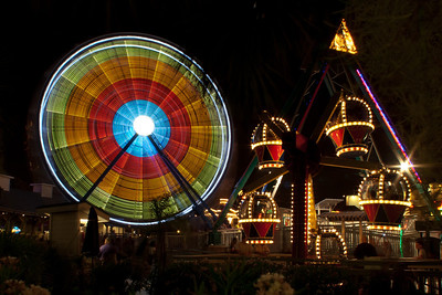 Amusement Park Night Life-5585