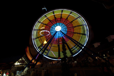 Amusement Park Night Life-5651