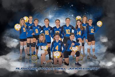 Alpha Girls Volleyball-Junior Varsity