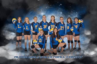 Alpha Girls Volleyball-Varsity