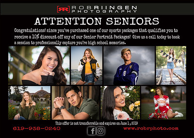 RRP DISCOUNT SENIOR SESSION
