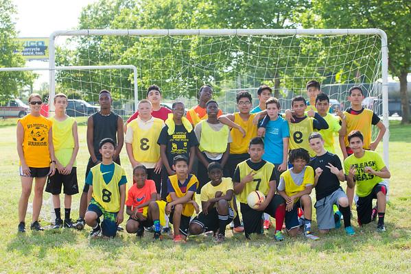Boys' Soccer June 2016