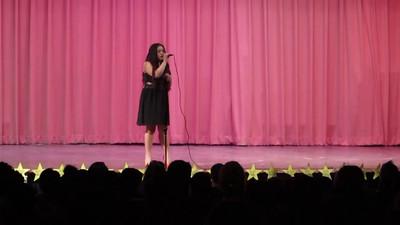 Josie Organista-Mojica sings One Last Time