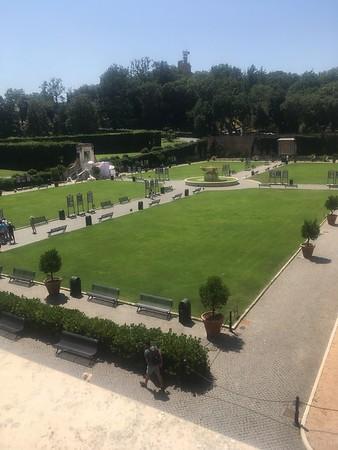 Vatican Courtyard, by Mart&Liv