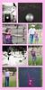 Wolski Paint Collage Pink