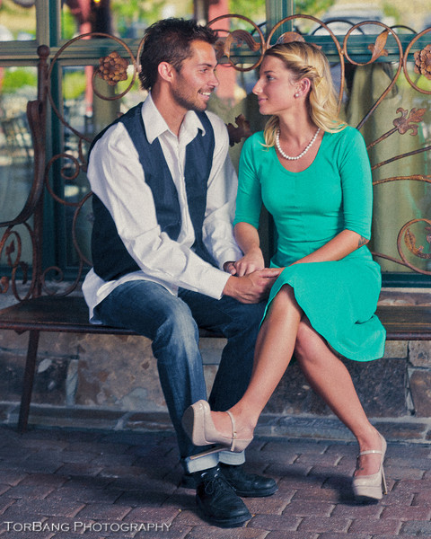 Notebook Stylized Couple's Shoot <br /> Models Makenzie Canale and Kenny Watson <br /> Photographer Torsten Bangerter