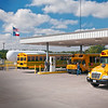 School buses fueled by propane autogas reduce noise levels by about 50 percent when compared to buses fueled by diesel.