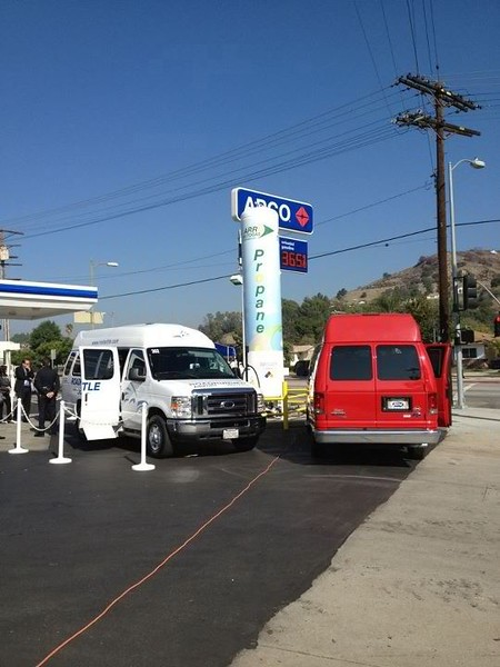 There are more than 1,500 propane autogas fuel stations in the United States, with stations in every state.