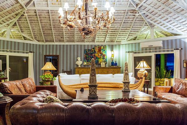 Main living room fazenda maison by Maison e Maison