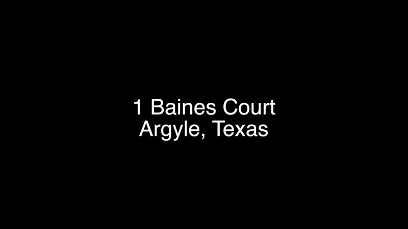 1 Baines Court, Argyle, Texas
