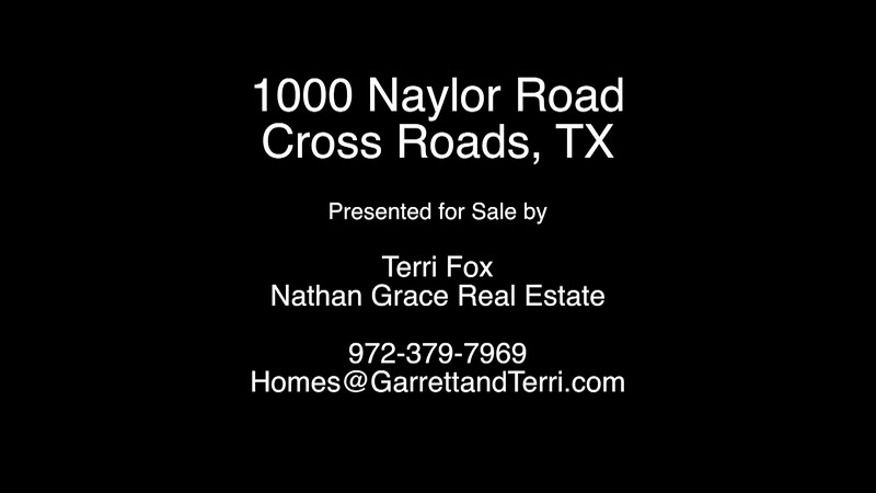 1000 Naylor Road - Cross Roads, TX