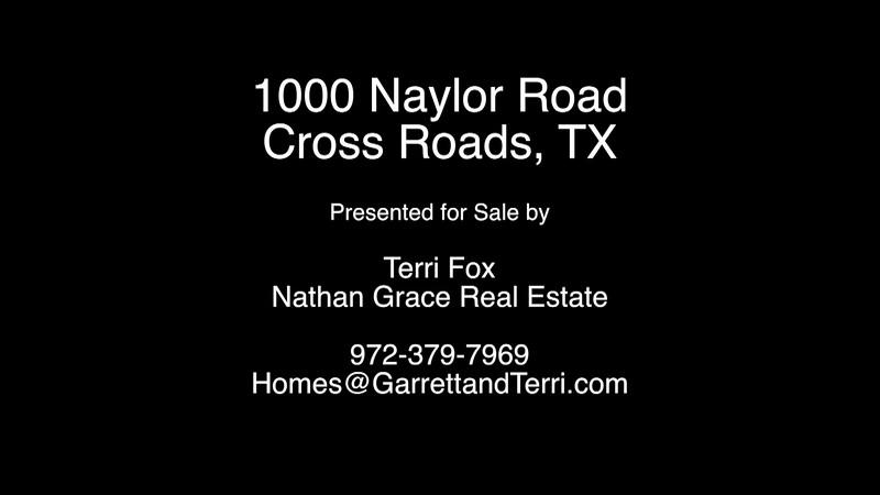 1000 Naylor Road - Cross Roads, TX