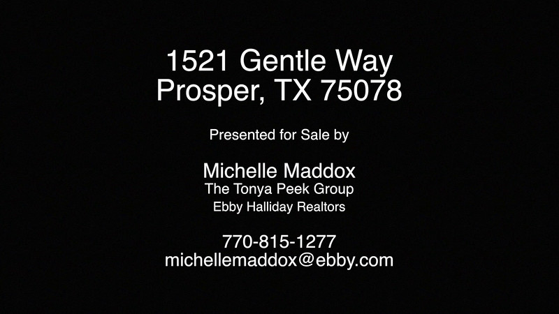 1521 Gentle Way, Prosper, TX